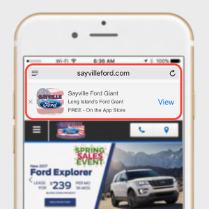 Add a Smart App Banner to Your Mobile Site