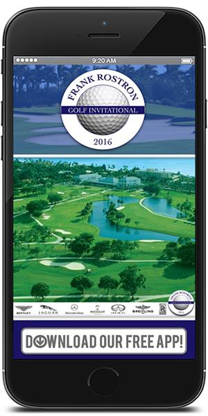 Official App for the Frank Rostron Golf Invitational