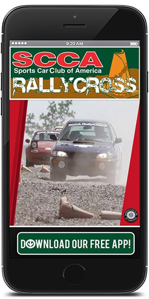 The Official Mobile App for SCCA RallyCross