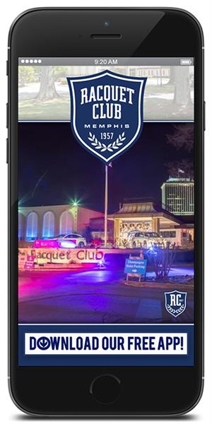The Official Mobile App for The Racquet Club of Memphis
