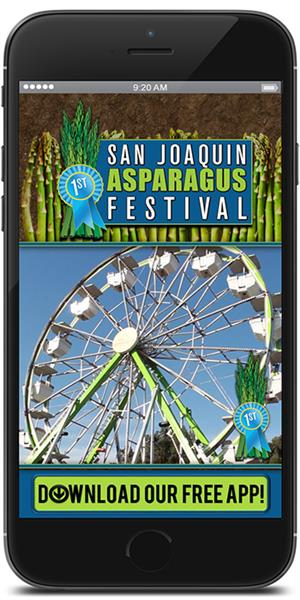 The Official Mobile App for the San Joaquin Asparagus Festival