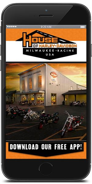 The Official Mobile App for House of Harley-Davidson
