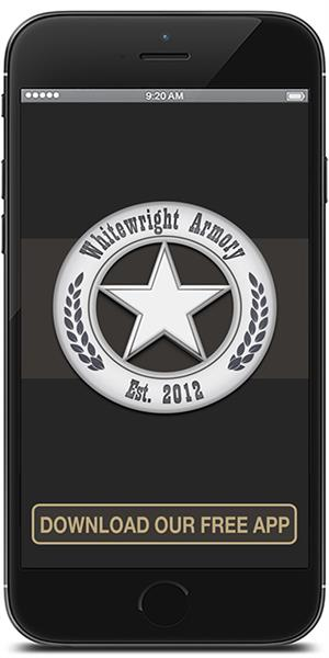 Stay in touch with Whitewright Armory using their mobile application available for both Apple and Android