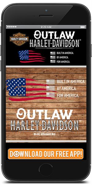 The Official Mobile App for Outlaw Harley-Davidson