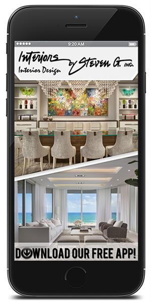 The Official Mobile App for Interiors by Steven G.