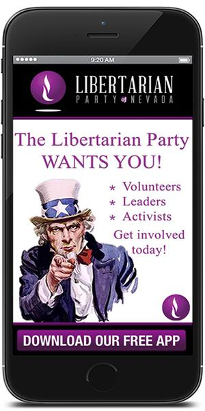 The Official App for the Libertarian Party of Nevada