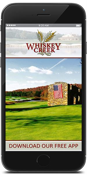 The Official Mobile App for Whiskey Creek Golf Club