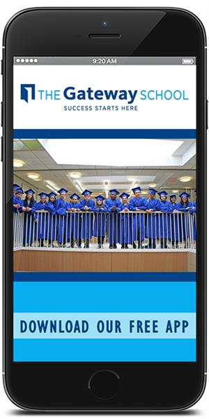 Stay connected to The Gateway School using their mobile application available for both Apple and Android devices