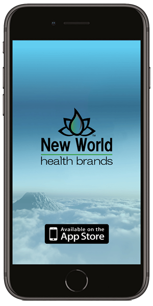 Stay in touch with New World Health Brands using their mobile application available for both Apple and Android