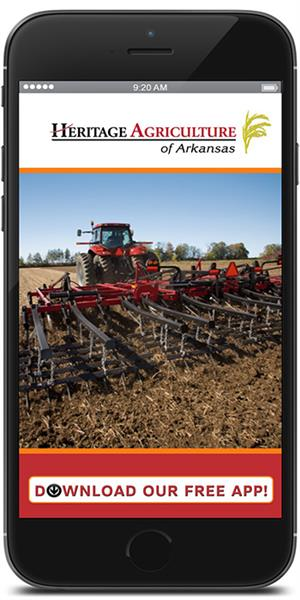 Stay in touch with Heritage Agriculture of Arkansas using their mobile application available for both Apple and Android