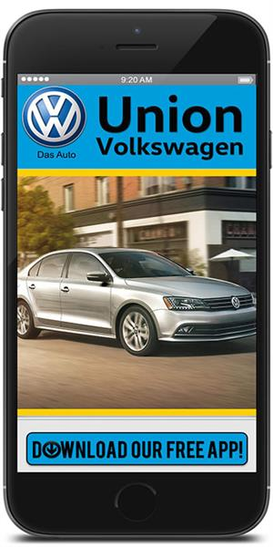 The Official Mobile App for Union Volkswagen