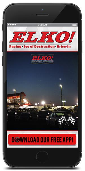Stay on track with Elko Speedway using their mobile application available for both Apple and Android