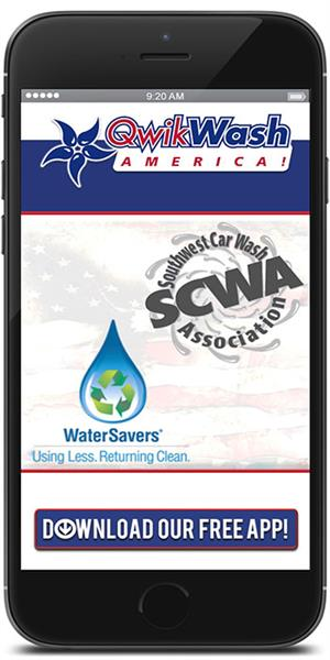 The Official Mobile App for QwikWash America!