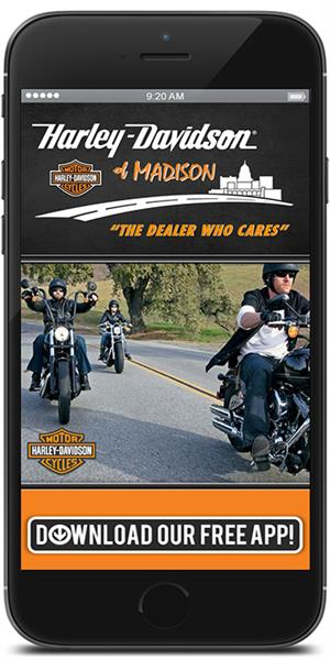 The Official Mobile App for Harley-Davidson of Madison