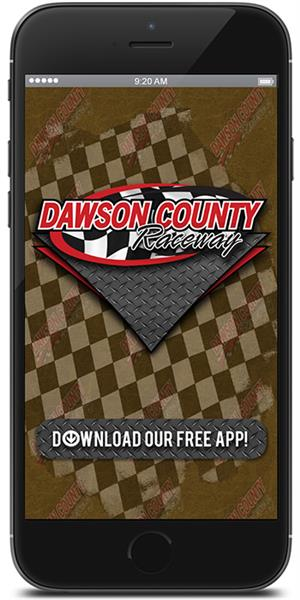 Stay on track with Dawson County Raceway using their mobile application available for both Apple and Android
