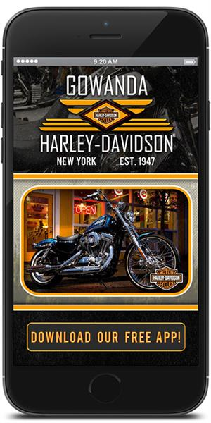The Official Mobile App for Gowanda Harley-Davidson