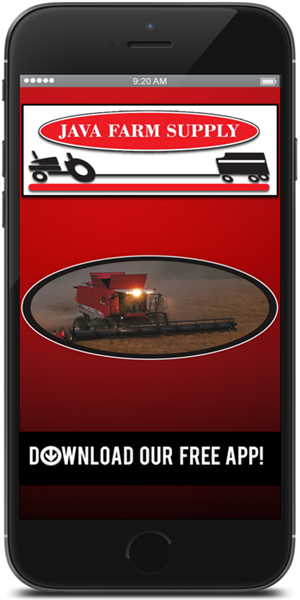 Stay in touch with Java Farm Supply using their mobile application available for both Apple and Android