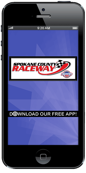 Stay on track with Spokane County Raceway using their mobile application available for both Apple and Android
