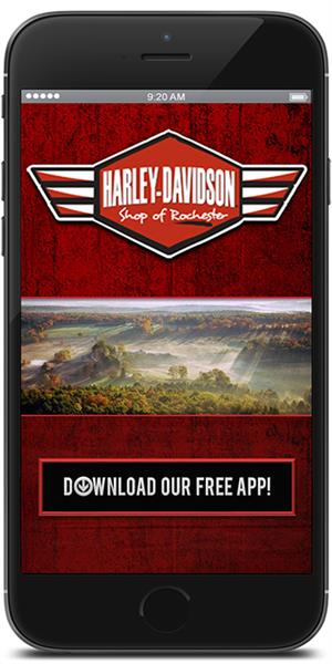 The Official Mobile App for Harley-Davidson Shop of Rochester