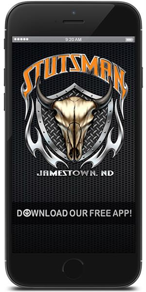 Keep in touch with Stutsman Harley-Davidson using their mobile application available for both Apple and Android