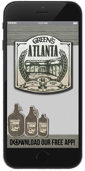 Stay informed about new arrivals with Green's Atlanta Official Mobile App