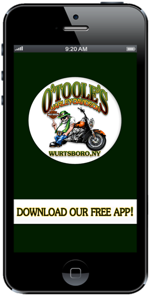 The Official Mobile App for O'Toole's Harley-Davidson