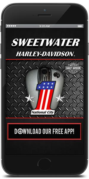 The Official Mobile App for Sweetwater Harley-Davidson