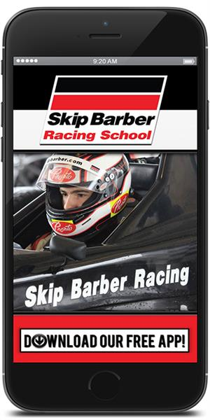 Skip Barber Racing School Official Mobile Application