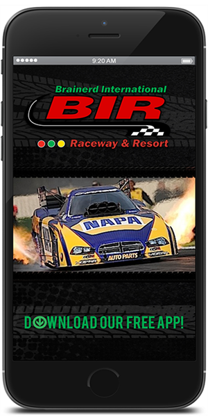 The Official Mobile Application for Brainerd International Raceway
