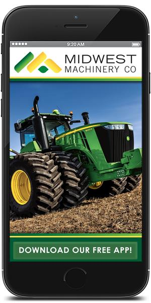Stay in touch with Midwest Machinery Co. using their mobile application available for both Apple and Android
