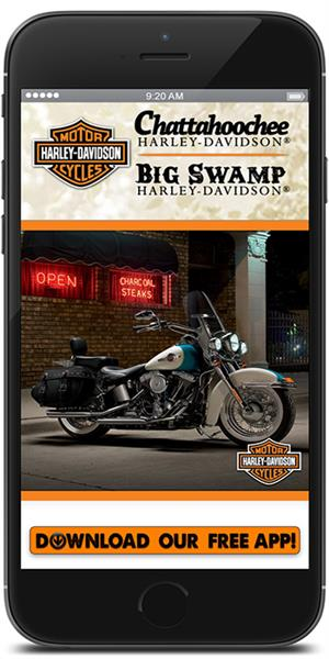 The Official Mobile App for Chattahoochee Harley-Davidson
