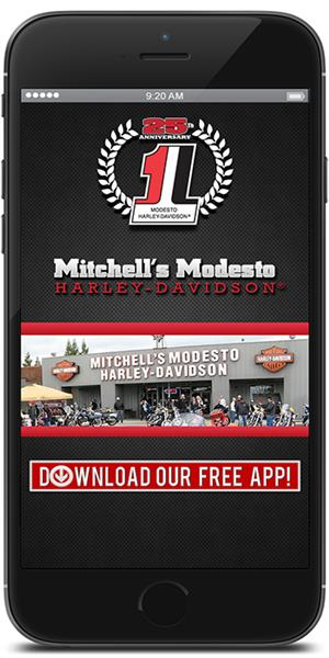 The Official Mobile App for Mitchell's Modesto Harley-Davidson
