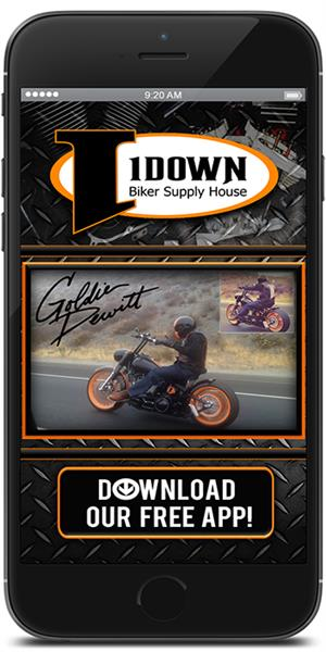 The 1Down Biker Supply House Official Mobile App