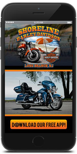 The Official Mobile App for Shoreline Harley-Davidson