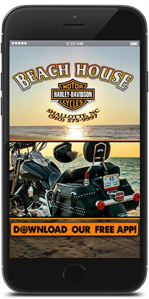 The Official Mobile App for Beach House Harley-Davidson