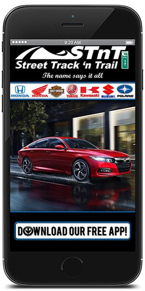 The Official Mobile App for Street Track 'n Trail Powersports & Honda Cars