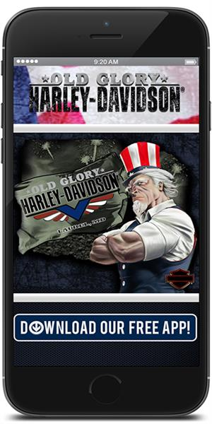 The Official Mobile App for Old Glory Harley-Davidson