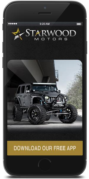 The Official Mobile App for Starwood Motors