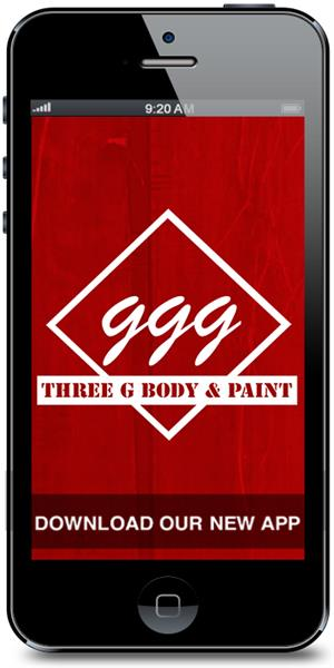 Three G Body & Paint Mobile Application