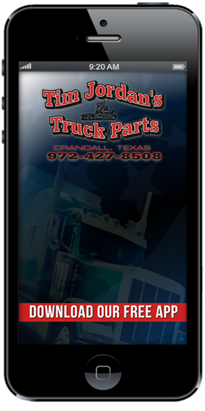 The Official Mobile App for Tim Jordan's Truck Parts