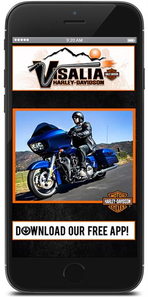 The Official Mobile App for Visalia Harley-Davidson