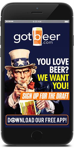Stay in touch with gotbeer.com using their mobile application available for both Apple and Android