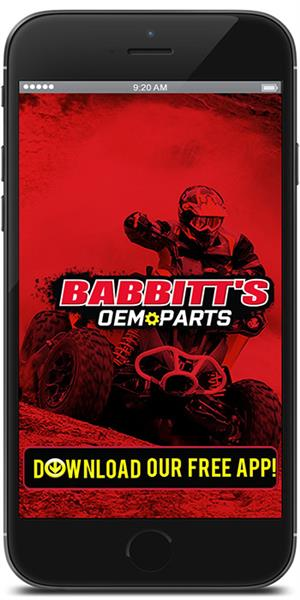 The Official Babbitt's OEM Parts Finder Mobile Application