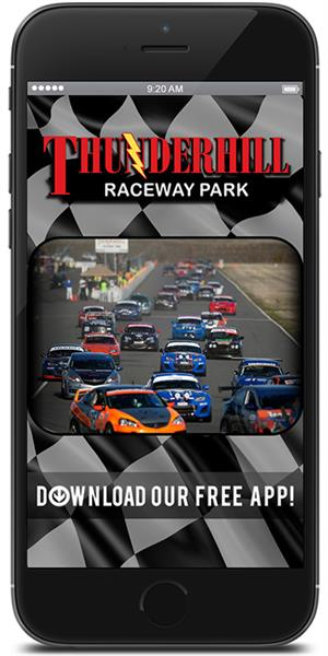 Stay in touch with Thunderhill Raceway Park using their mobile application available for both Apple and Android