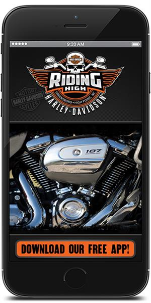 The Official Mobile App for Riding High Harley-Davidson