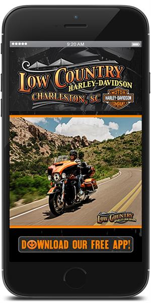 The Official Mobile App for Low Country Harley-Davidson