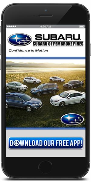 The Official Mobile App for Subaru of Pembroke Pines