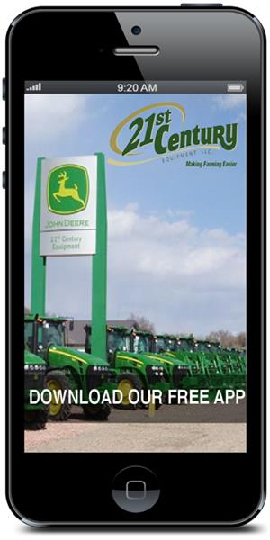 The Official Mobile Application for 21st Century Equipment