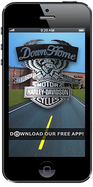 The Official Mobile App for Down Home Harley-Davidson