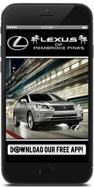 The Official Mobile App for Lexus of Pembroke Pines
